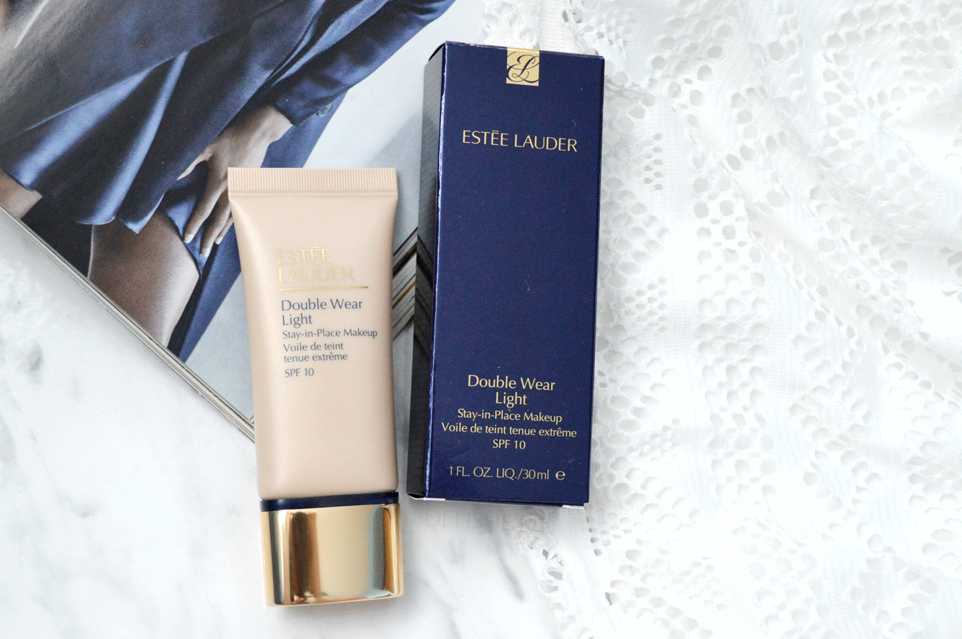 estee lauder double wear light podkład haul