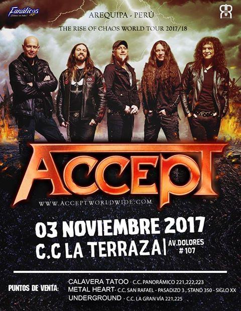 Aceppt en Arequipa - 03 de noviembre