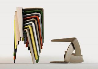 Taburete de diseño Belgica