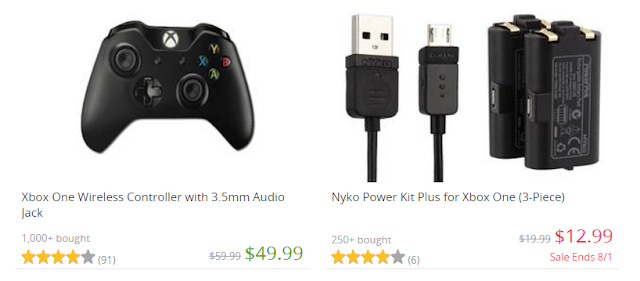 Gaming system accessories at Groupon