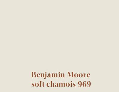 Benjamin moore soft chamois