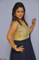 Shilpa Chakravarthy anchor and actress in anarkali dress  Exclusive 011.JPG
