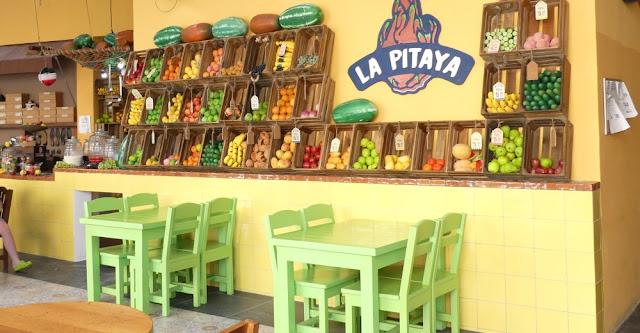 Kreuzfahrthafen Costa Maya - frische Früchte