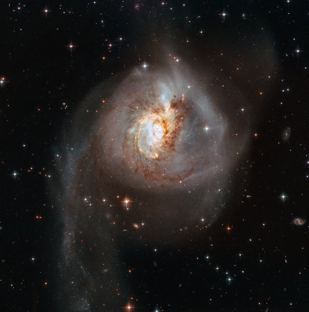 Cosmic collision lights up the darkness