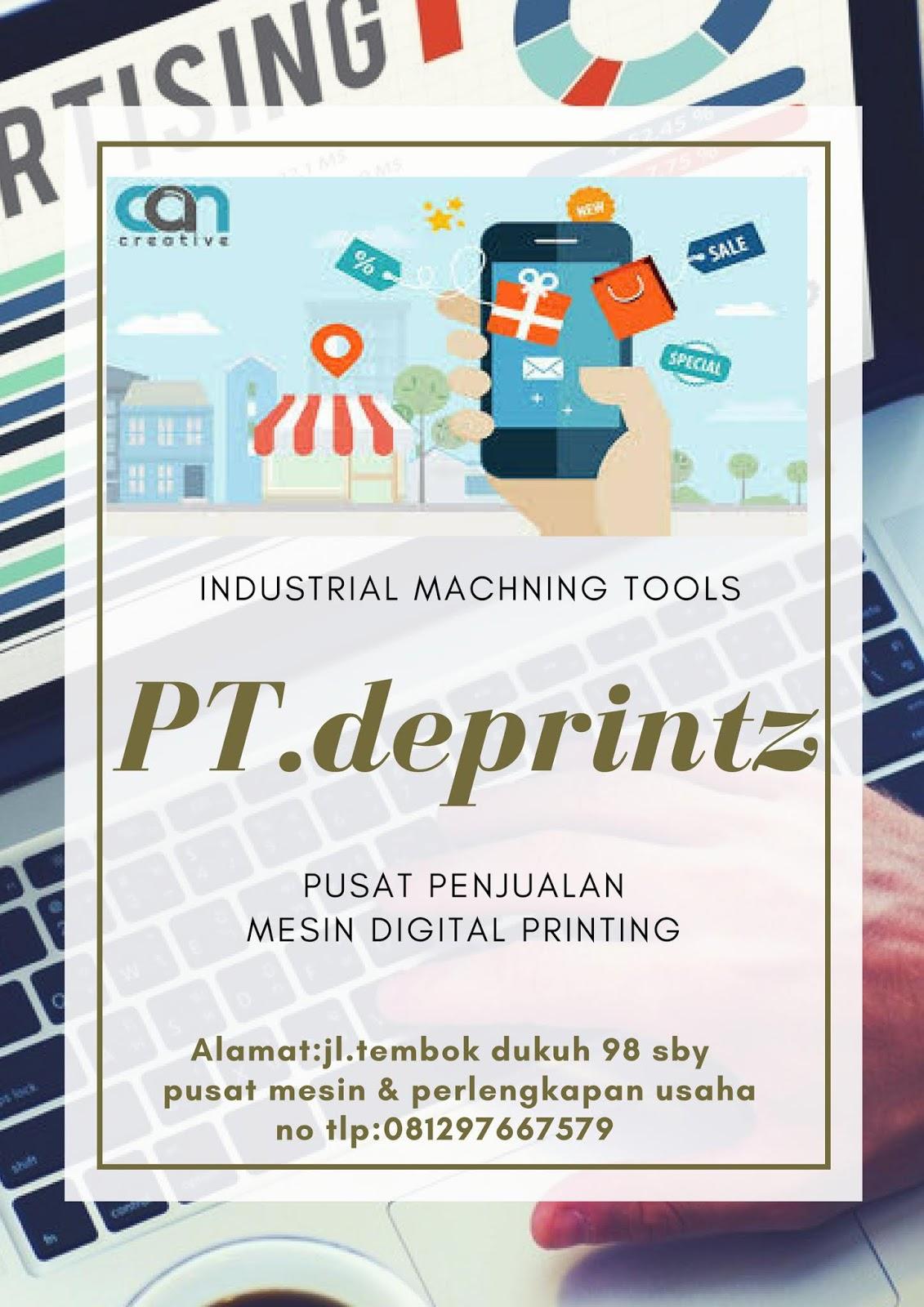 Bisnis Iklan Digital Workshop Digital Printing