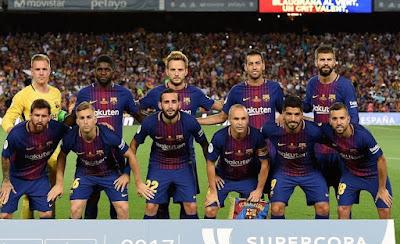 Daftar Skuad Pemain Barcelona