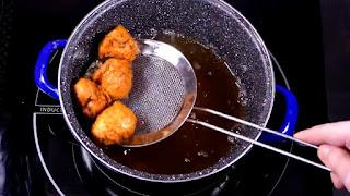 como sofreír el pollo en aceite