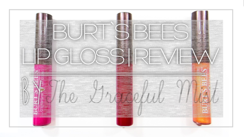 Burt`s Bees Philippines - Lip Gloss, Rosy Dawn, Summer Twilight, Sunny Day - Review by www.TheGracefulMist.com @TheGracefulMist #SampleRoomPh