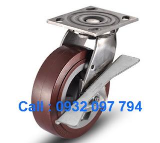 Bánh xe đẩy có khóa, bánh xe đẩy, bánh xe chịu tải