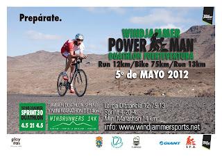 WINDJAMMER POWERMAN EN FUERTEVENTURA EL 5 DE MAYO CON EL CAMPEON MUNDIAL. 1