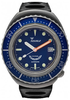 montre Squale 101 Atmos 2002 Blue Blasted