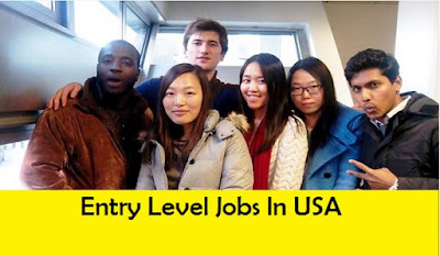 Entry Level Jobs In USA