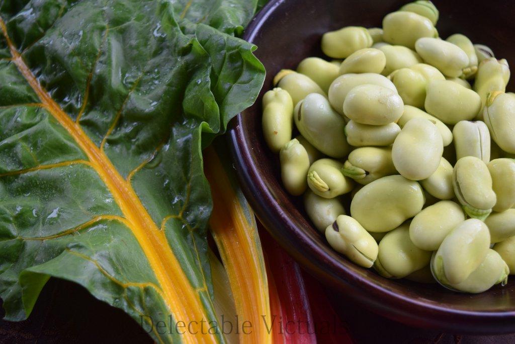 Fava Bean and Chard Herb Hummus