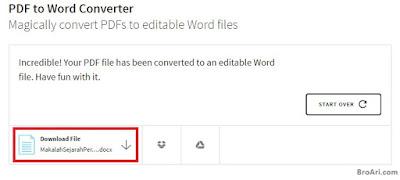 Cara Termudah Mengubah PDF ke Word