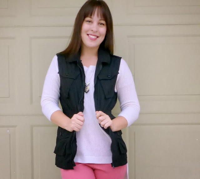 diy cargo vest sewing refashion and tutorial