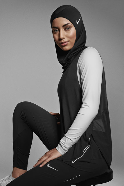 Keren, Ini Dia Jilbab Berteknologi Tinggi bagi Atlet Muslimah