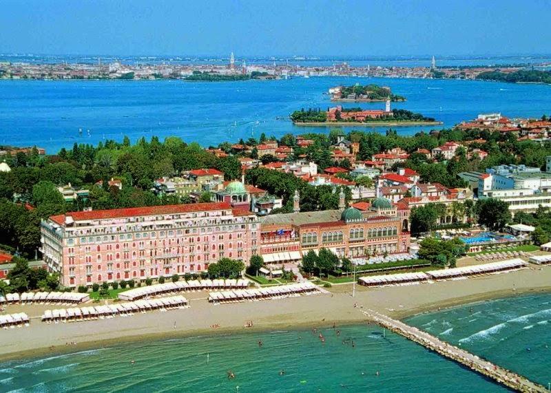 Ilha Lido de Veneza Praia
