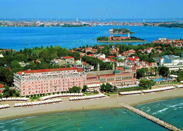 Visite a Ilha Lido di Venezia na Itália