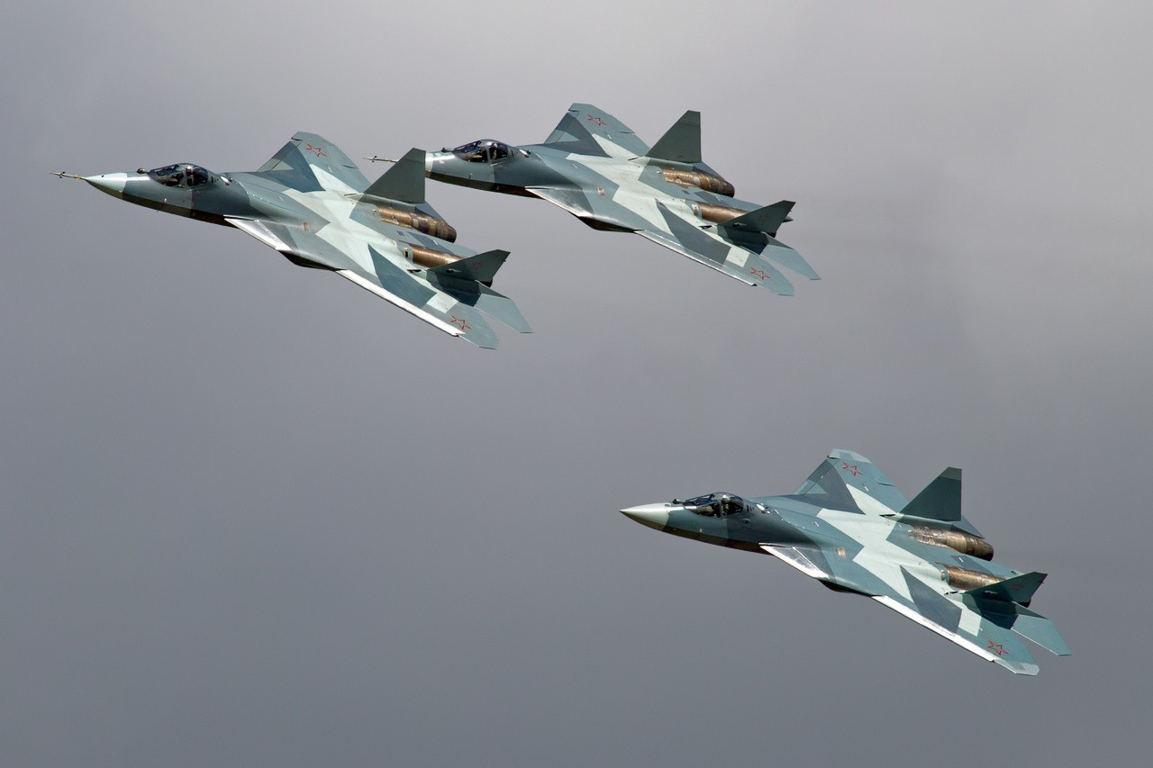 Russia PAK FA is technically comparable to the F-22 but