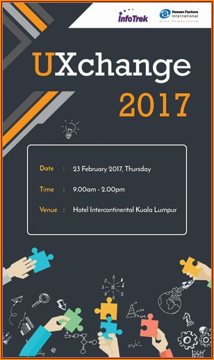 Master di UXChange Malaysia 2017 di Hotel Intercontinental