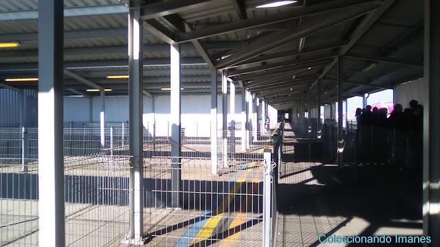 Aeropuerto de Budapest en construcción