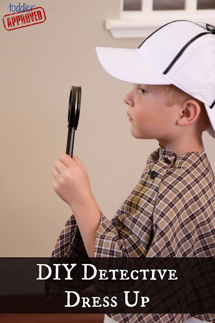 Toddler Approved Diy Detective Dress Up Costume And
