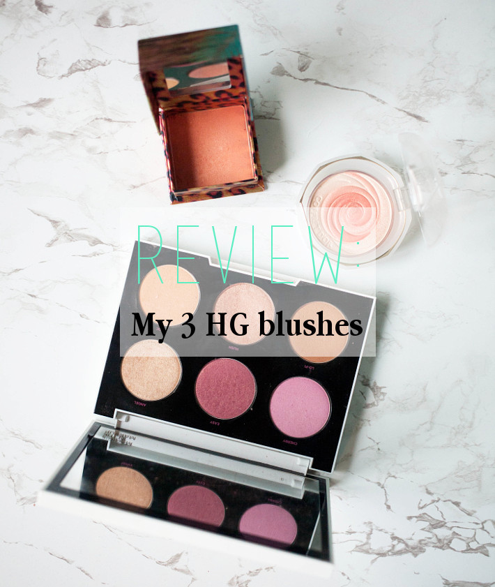 Review: my 3 HG blushes