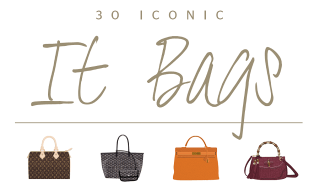 30 most Iconic Bags