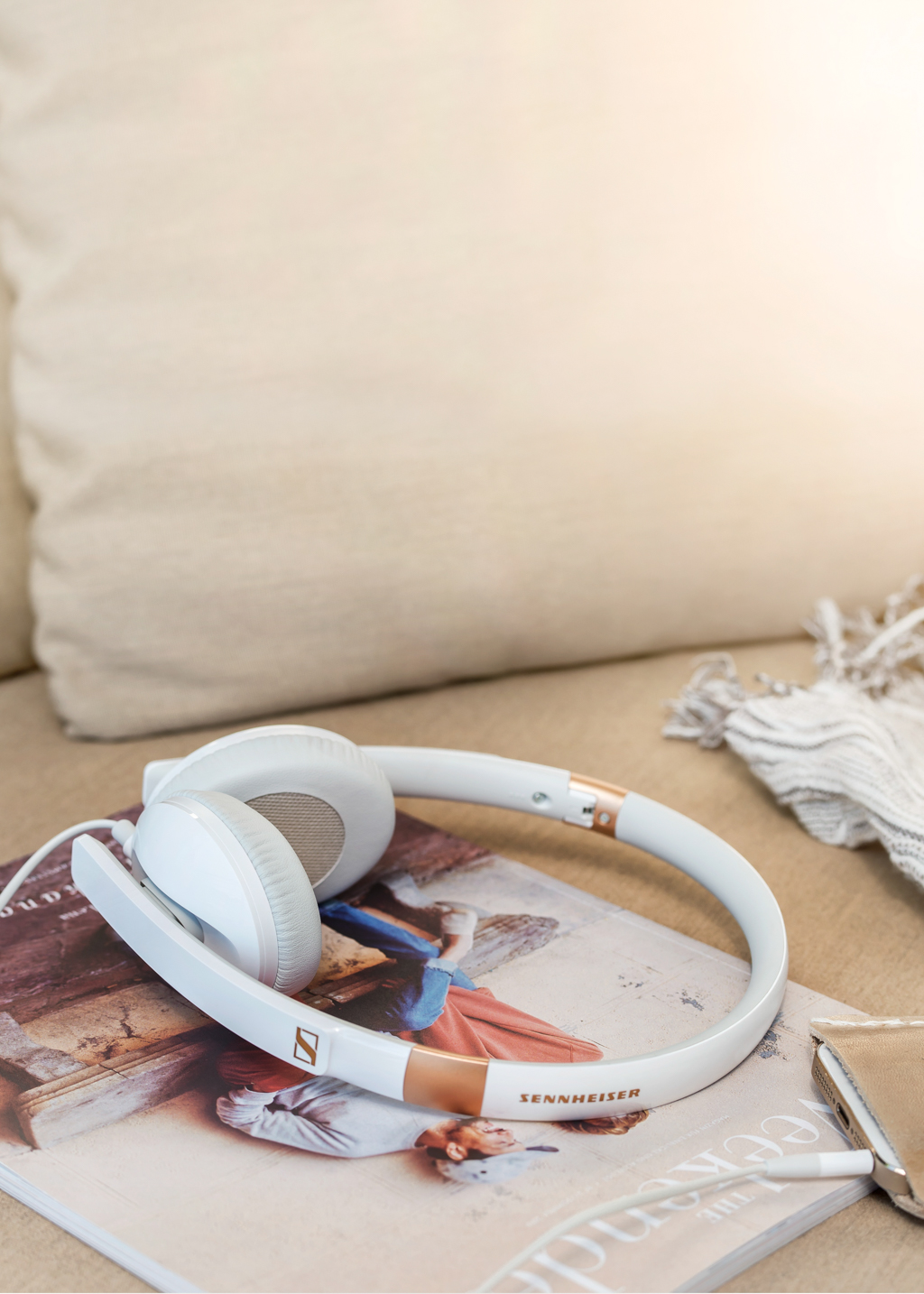 Tai nghe Sennheiser HD 2.30: gọn nhẹ, thời trang, cao cấp, chất âm hoàn hảo
