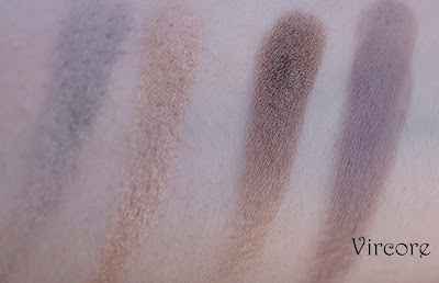 in the buff w7 swatches