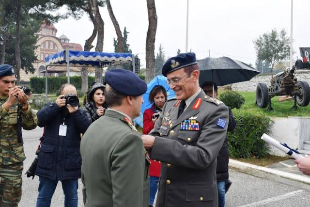 Ο Στρατηγός Καμπάς τιμά τα στελέχη του!