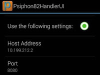 MTN DATA | PSIPHON HANDLER Settings Option Two