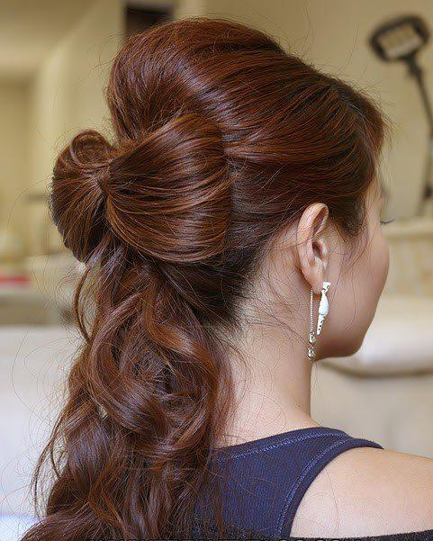 celebrity hairstyle beautiful