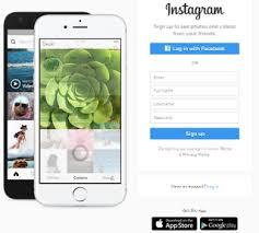 Cara daftar Instagram Menggunakan Komputer PC atau Laptop