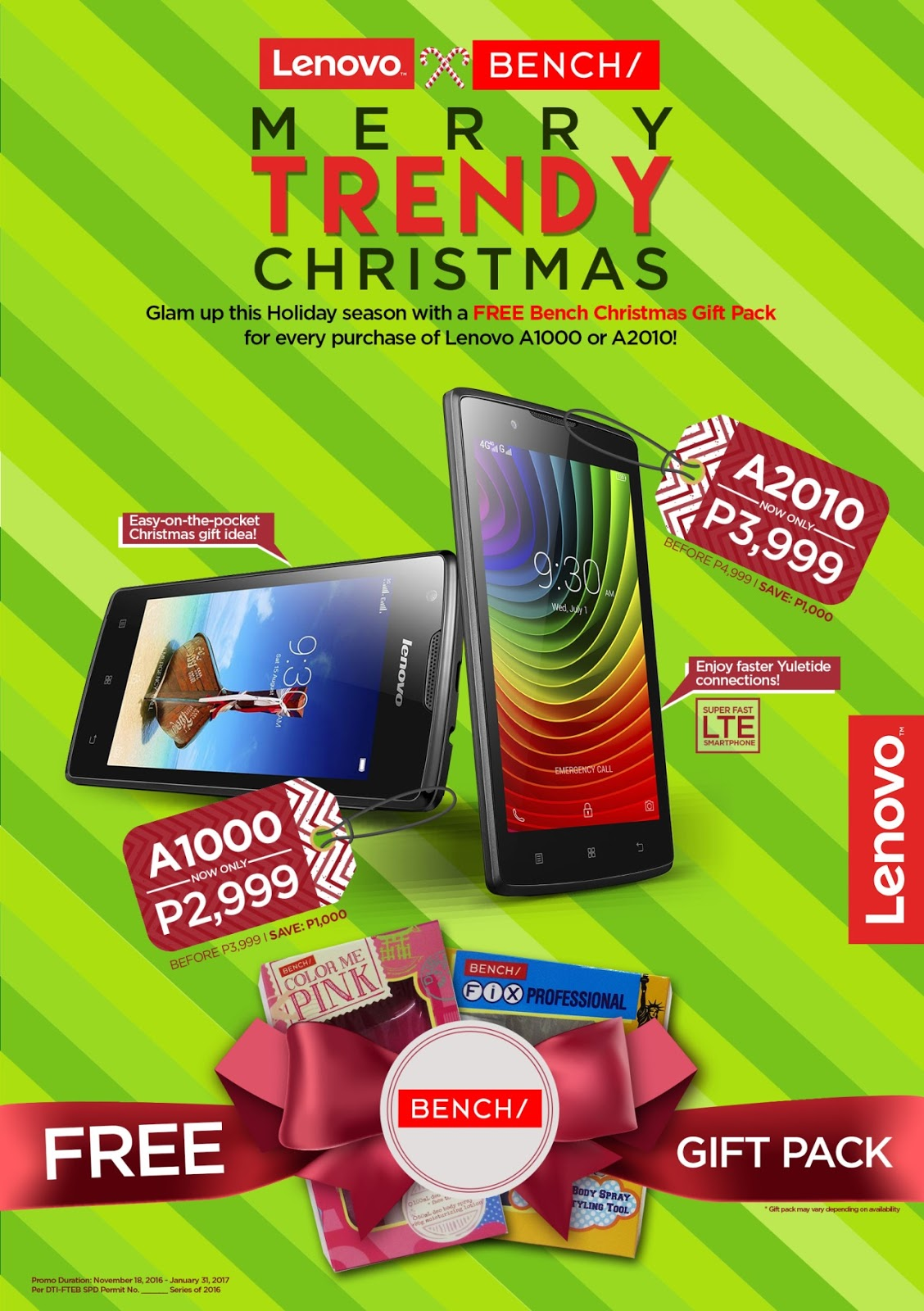 Lenovo Merry Trendy Christmas Promo