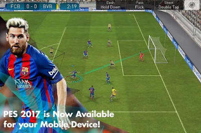 Download PES 2017 v0.9 Apk