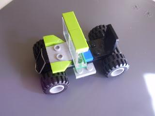 MOC LEGO Carro verde
