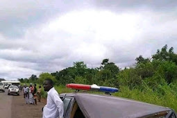 Double Wahala For The Dead As Fuel Tanker Rammed Into A Hearse