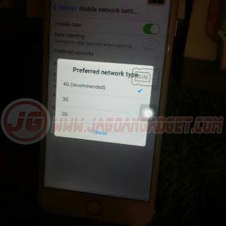 Handphone HDC jaringan 4G LTE