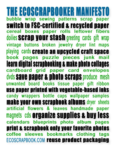 The Future of EcoScrapbooking