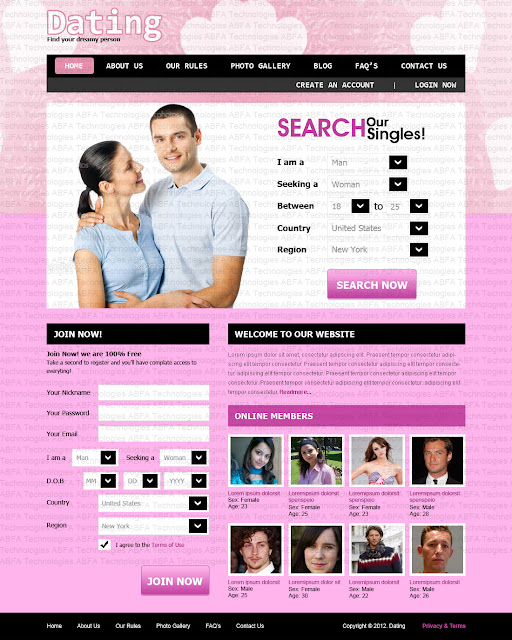 Dating website design companies