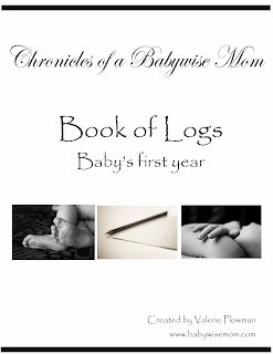 Book of Logs to track things for baby