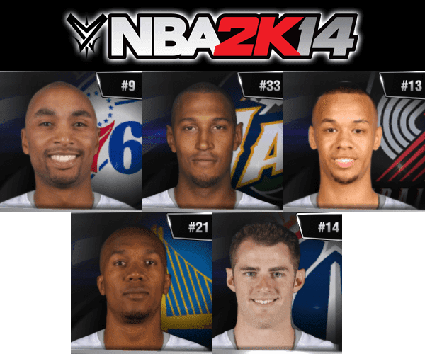 NBA 2k14 Ultimate Roster Update v7.4 : July 5th, 2016 - Free Agency Trades