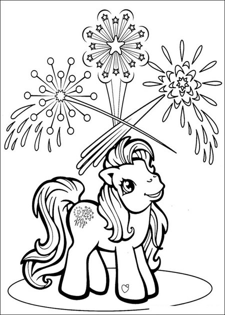 my little pony cartoon coloring pages  free printable