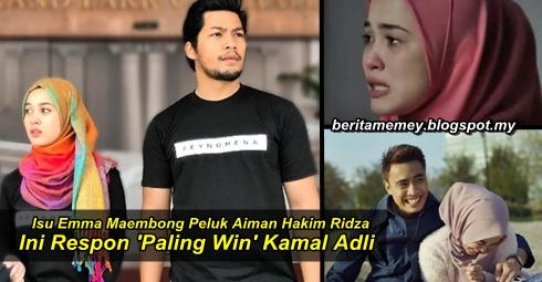 Isu Emma Maembong Peluk Aiman Hakim Ridza, Ini Respon 'Paling Win' Kamal Adli