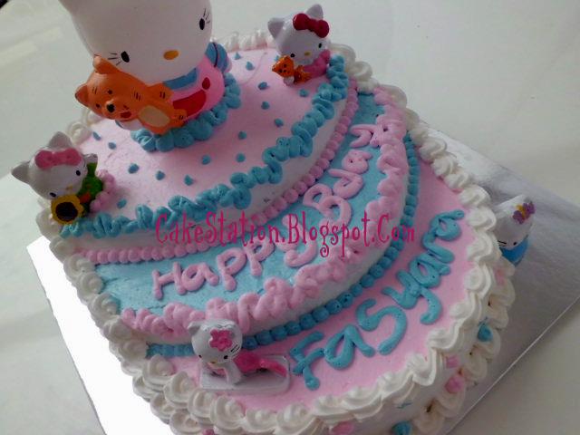 Cake Station Hello Kitty Birthday Cake Untuk Fasyara