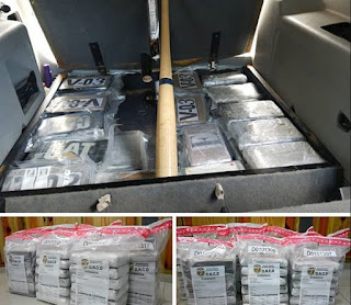 Oficiales de la Dirección Nacional de Control de Drogas (DNCD) coordinados por miembros del Ministerio Público y el apoyo de otras agencias de inteligencia, ocuparon 43 kilos de cocaína, en medio de un operativo de interdicción realizado en la provincia de La Romana.