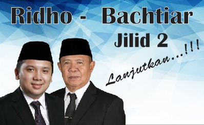 Ridho - Bachtiar Jilid II Dipastikan Mendaftar Ke KPU Hari Ini