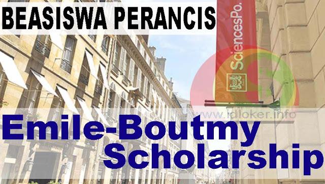 Beasiswa S1, S2 Emile Boutmy Sciences Po University Paris 2019-2020