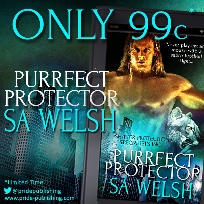 Purrfect Protector by SA Welsh